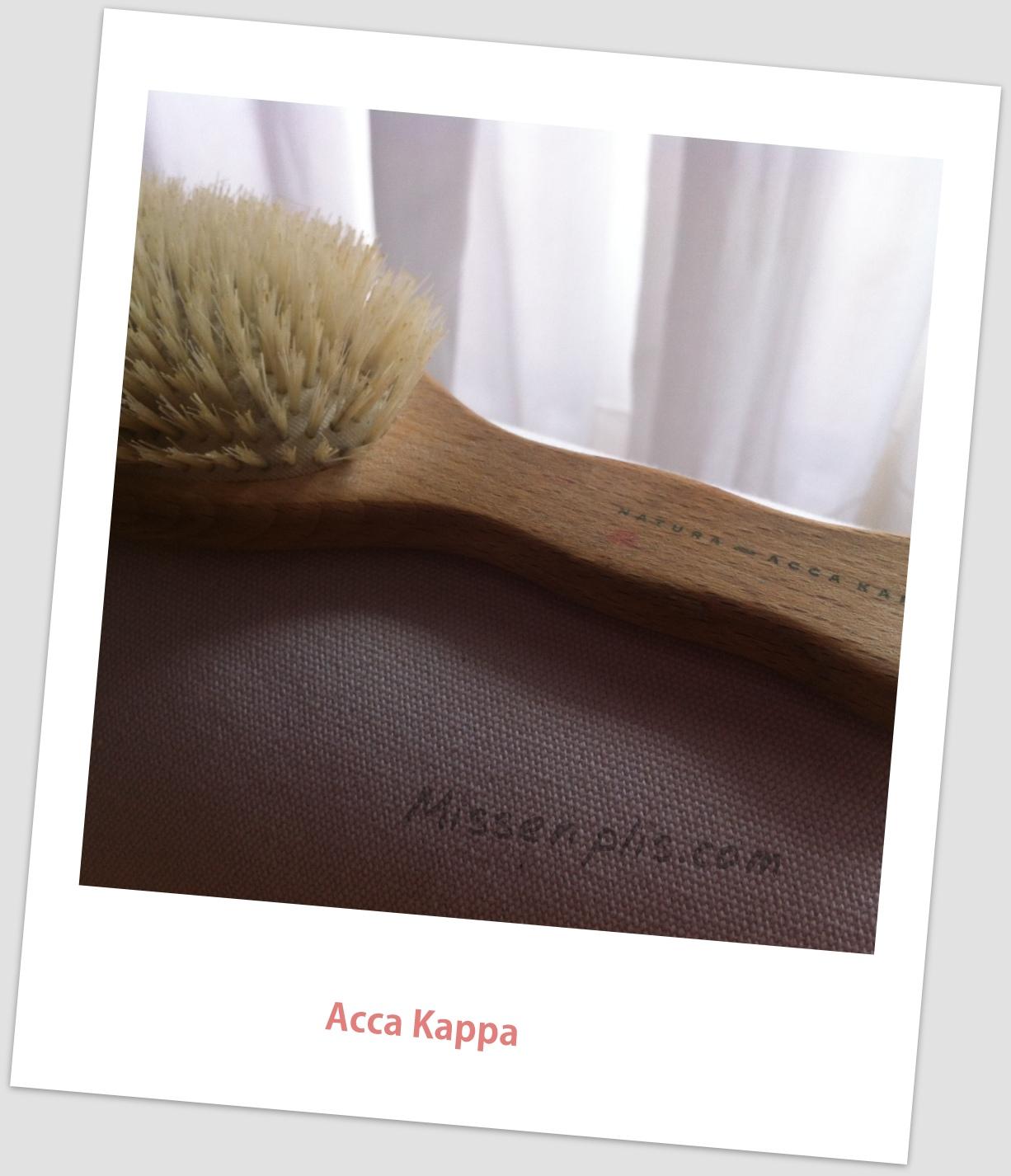 cepillos cerda natural Acca Kappa para Missenplis