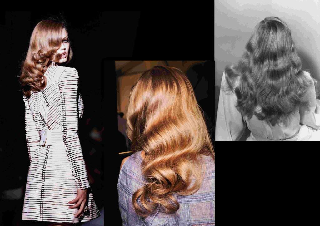 Peinado melena suelta 40´s ondas RECOGIDO Missenplis