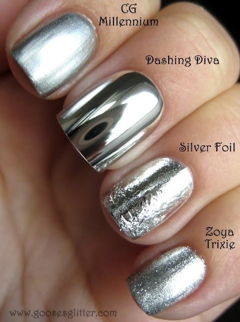 metales diferentes esmalte uñas missenplis