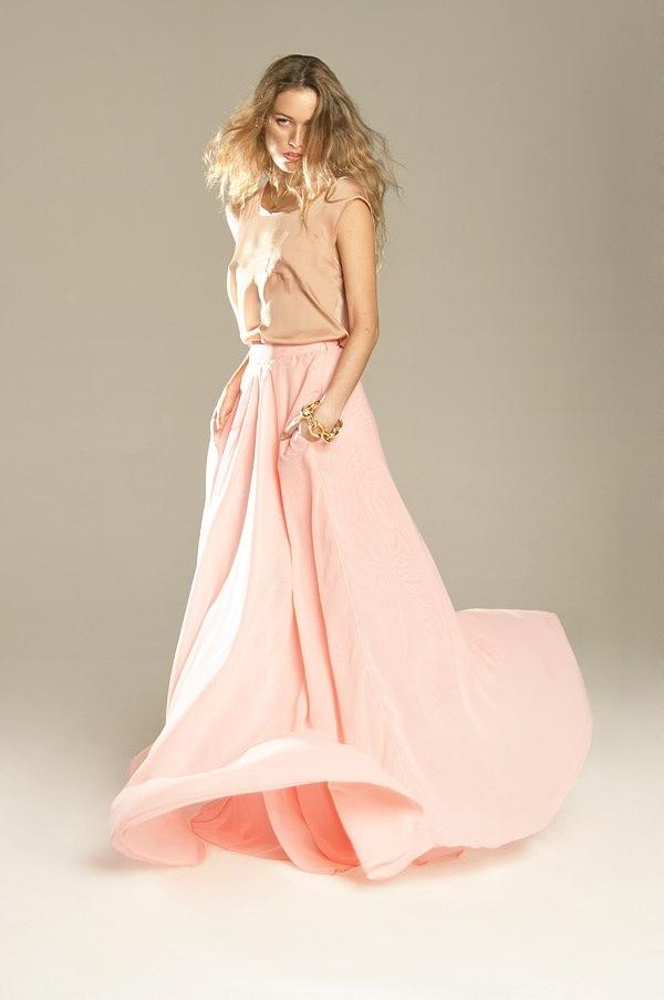 vestido rosa nude fashion missenplis