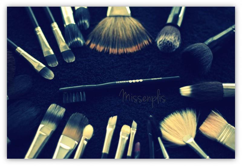 Limpieza de pinceles y brochas