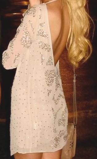 vestido escote espalda missenplis